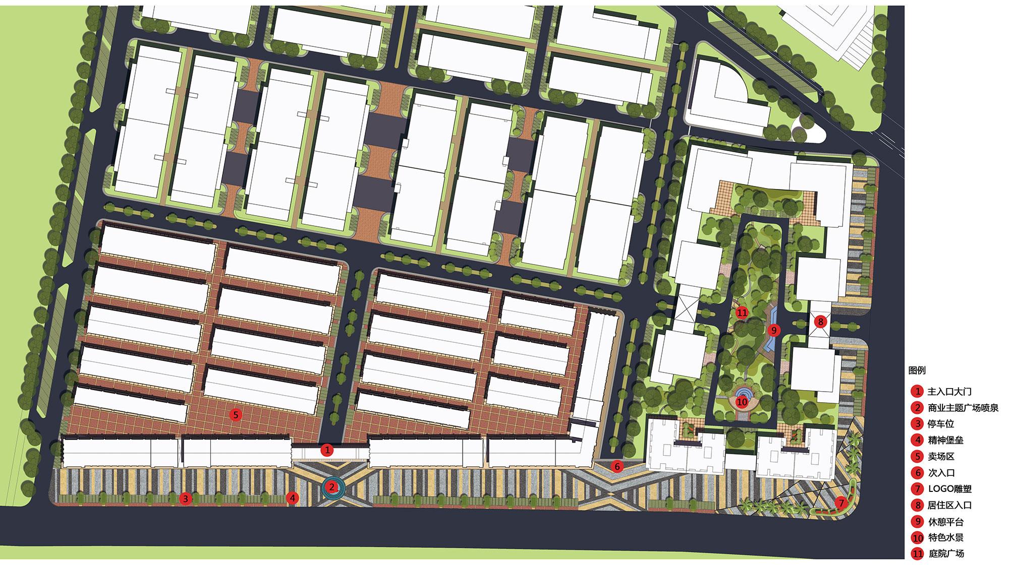 东森集团汉川华中电动车CBD一期一标景观设计与施工2013006.jpg