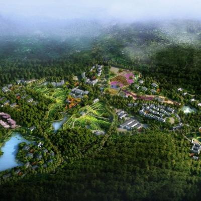 安徽一品天下茶产业园特色小镇总体规划及修建性详细规划(2016)