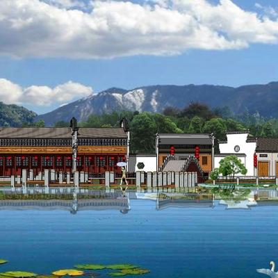 黄陂石门古镇建筑及景观改造(2008)