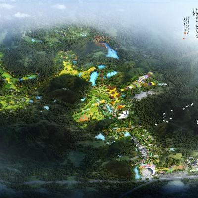 龙之昇·长河生态旅游度假区总体规划及修建性详细规划(2014)