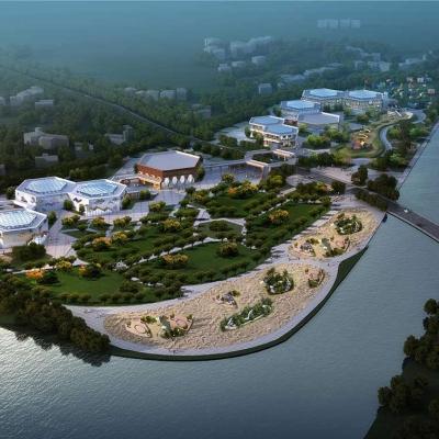 洈水研学旅行营地规划设计——蜂巢建筑设计(2017)