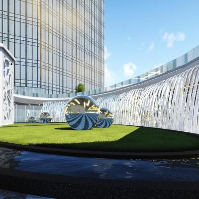 武汉·非凡天地/光谷企业天地景观设计(2015)