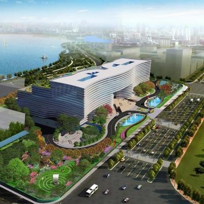 湖北省图书馆景观设计(2011)