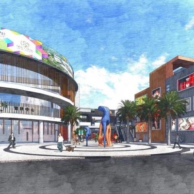 湖北德荃绿谷C区一期商业景观及A区会展中心景观设计(2014)