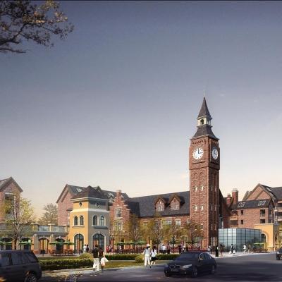当代安普顿小镇景观设计(2010)