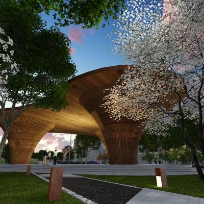 安徽垃圾处理发电厂厂区景观设计(2016年)