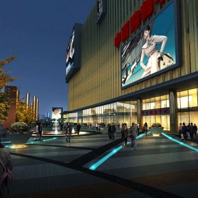 中百集团钟祥购物中心建筑与景观设计(2013)