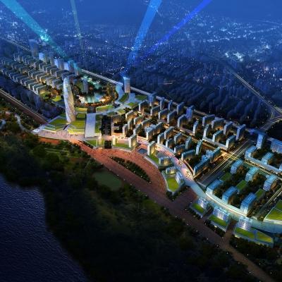 武汉光谷科技新城景观设计(2010)