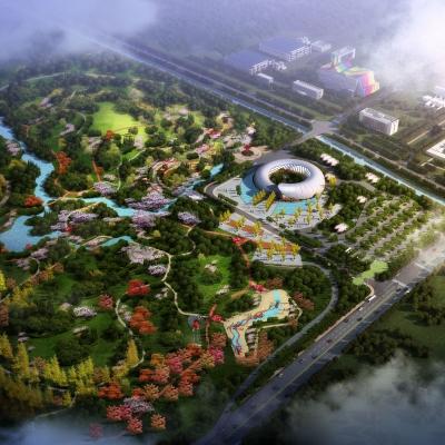 仙桃市城市生态公园景观设计(2017)