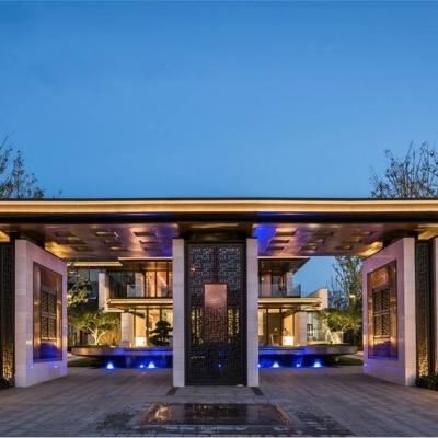 武汉国采光立方体验中心景观设计