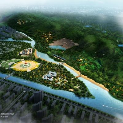 湖北黄梅马尾山森林公园景观规划(2013)