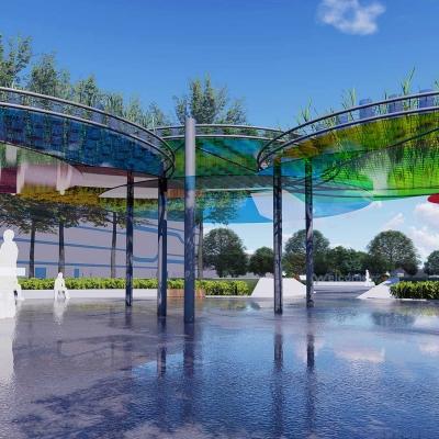 湖北达能食品饮料有限公司厂区景观改造设计(2018)